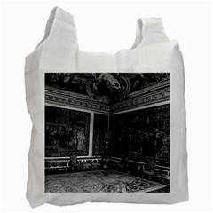 Vintage France palace of Versailles Apollo chambre 1970 Twin-sided Reusable Shopping Bag