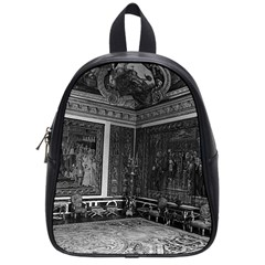 Vintage France palace of Versailles Apollo chambre 1970 Small School Backpack