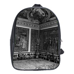 Vintage France palace of Versailles Apollo chambre 1970 School Bag (XL)