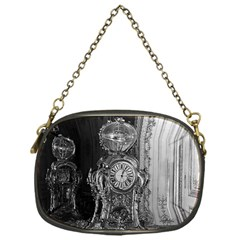 Vintage France Palace of Versailles astronomical clock Single-sided Evening Purse