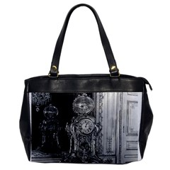 Vintage France Palace Of Versailles Astronomical Clock Single Sided Oversized Handbag
