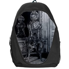 Vintage France Palace Of Versailles Astronomical Clock Backpack Bag