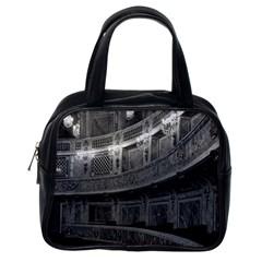 Vintage France Palace Versailles Opera House Single Sided Satchel Handbag
