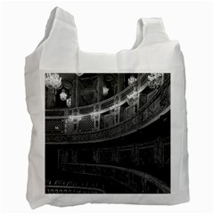 Vintage France palace Versailles opera house Twin-sided Reusable Shopping Bag
