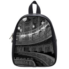 Vintage France Palace Versailles Opera House Small School Backpack