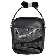 Vintage France palace Versailles opera house Kids  Sling Bag