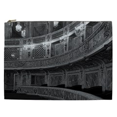 Vintage France palace Versailles opera house Cosmetic Bag (XXL)