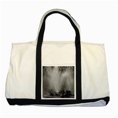 Vintage France palace of Versailles Apollo fountain Two Toned Tote Bag