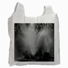 Vintage France palace of Versailles Apollo fountain Single-sided Reusable Shopping Bag