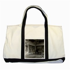 Vintage France palace of Versailles stade dining room Two Toned Tote Bag