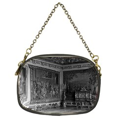 Vintage France Palace Of Versailles Stade Dining Room Single Sided Evening Purse