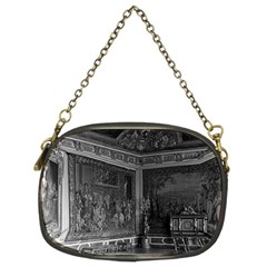 Vintage France palace of Versailles stade dining room Twin-sided Evening Purse