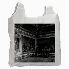 Vintage France Palace Of Versailles Stade Dining Room Single Sided Reusable Shopping Bag