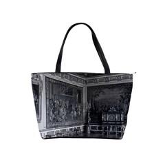 Vintage France palace of Versailles stade dining room Large Shoulder Bag