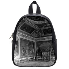Vintage France palace of Versailles stade dining room Small School Backpack