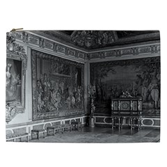 Vintage France palace of Versailles stade dining room Cosmetic Bag (XXL)