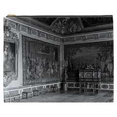 Vintage France Palace Of Versailles Stade Dining Room Cosmetic Bag (xxxl)