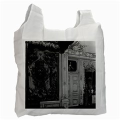 Vintage France Palace Versailles Louis Xv Bed Chamber Single Sided Reusable Shopping Bag