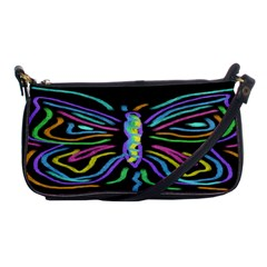 Abstract Butterfly Clutch Purse Evening Bag