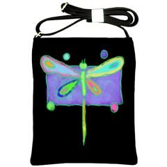 Funky Dragonfly Shoulder Purse Cross Shoulder Sling Bag