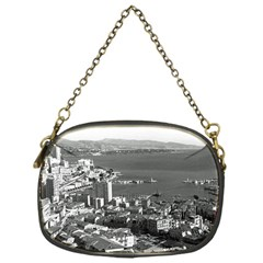Vintage Principality of Monaco  the port of Monte Carlo Single-sided Evening Purse