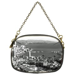 Vintage Principality Of Monaco  The Port Of Monte Carlo Twin Sided Evening Purse