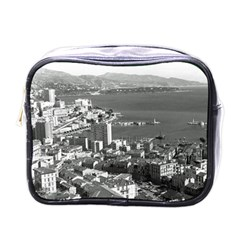 Vintage Principality Of Monaco  The Port Of Monte Carlo Single Sided Cosmetic Case