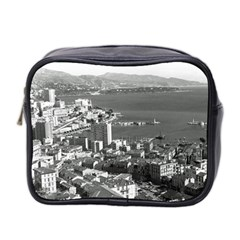 Vintage Principality Of Monaco  The Port Of Monte Carlo Twin Sided Cosmetic Case