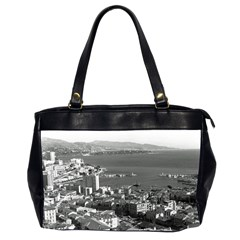 Vintage Principality of Monaco  the port of Monte Carlo Twin-sided Oversized Handbag