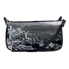 Vintage Principality of Monaco  the port of Monte Carlo Evening Bag