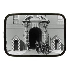 Vintage Principality of Monaco palace gate and guard 10  Netbook Case