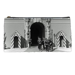 Vintage Principality of Monaco palace gate and guard Pencil Case