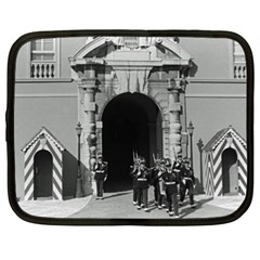 Vintage Principality Of Monaco Palace Gate And Guard 15  Netbook Case