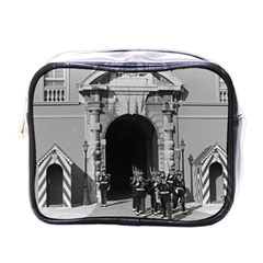 Vintage Principality of Monaco palace gate and guard Single-sided Cosmetic Case