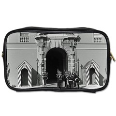 Vintage Principality of Monaco palace gate and guard Single-sided Personal Care Bag