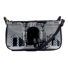 Vintage Principality of Monaco palace gate and guard Evening Bag