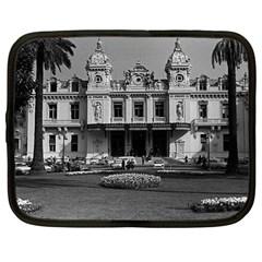 Vintage Principality of Monaco Monte Carlo Casino 12  Netbook Case