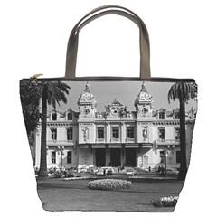 Vintage Principality of Monaco Monte Carlo Casino Bucket Handbag