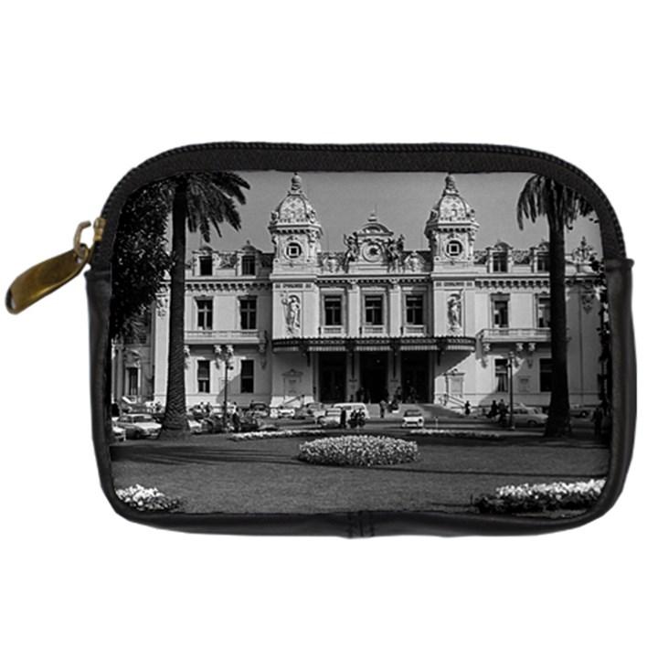 Vintage Principality of Monaco Monte Carlo Casino Compact Camera Case
