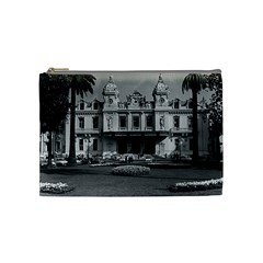 Vintage Principality Of Monaco Monte Carlo Casino Medium Makeup Purse
