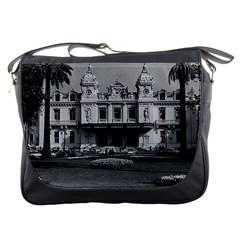 Vintage Principality of Monaco Monte Carlo Casino Messenger Bag