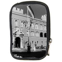 Vintage Principality of Monaco & princely palace 1970 Digital Camera Case