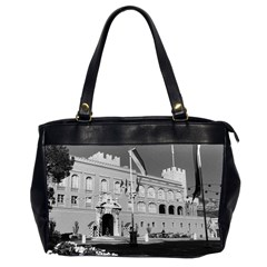 Vintage Principality of Monaco & princely palace 1970 Twin-sided Oversized Handbag