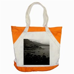 Vintage Principality of Monaco The port of Monaco 1970 Snap Tote Bag