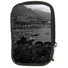 Vintage Principality of Monaco The port of Monaco 1970 Digital Camera Case
