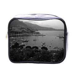 Vintage Principality of Monaco The port of Monaco 1970 Single-sided Cosmetic Case