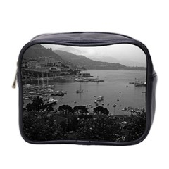 Vintage Principality of Monaco The port of Monaco 1970 Twin-sided Cosmetic Case