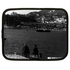 Vintage Principality Of Monaco The Port Of Monaco 1970 13  Netbook Case