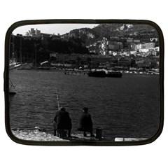 Vintage Principality of Monaco The port of Monaco 1970 15  Netbook Case