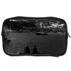 Vintage Principality of Monaco The port of Monaco 1970 Single-sided Personal Care Bag